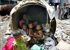 Poor Living Conditions in India